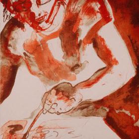 Kunst, Lithographie von Bernhard Lochmann