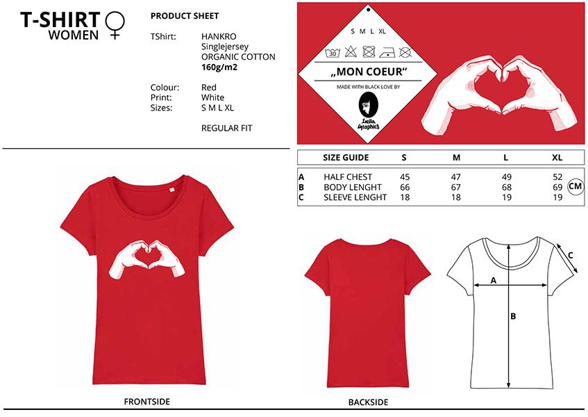 T Shirt von Leila Graphics